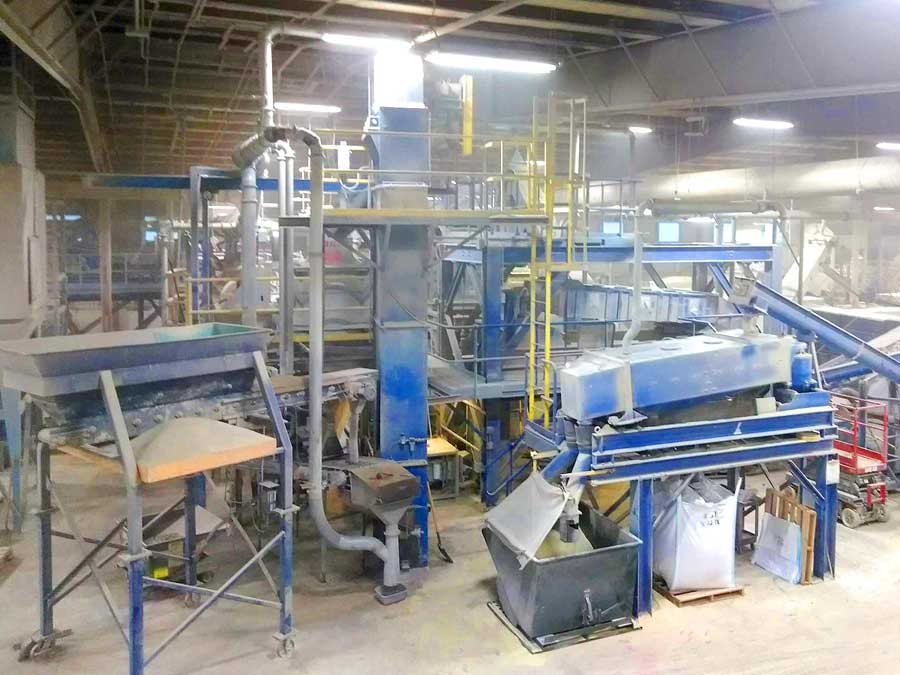 Recycled Crushed Glass Abrasive Manufacturing